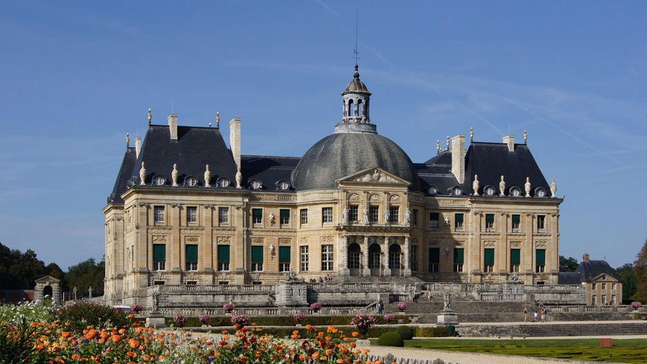 König Ludwigs Finanzminister Nicolas Fouquet ließ Vaux-le-Vicomte südöstlich von Paris bis 1661 für sich erbauen.