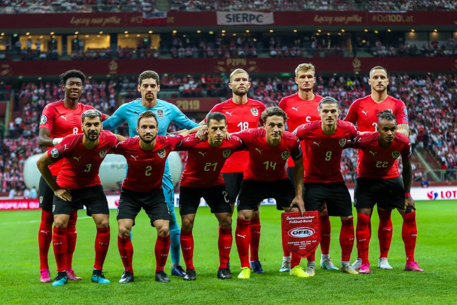 Das ÖFB-Team liegt weiter an 27. Stelle der Weltrangliste.