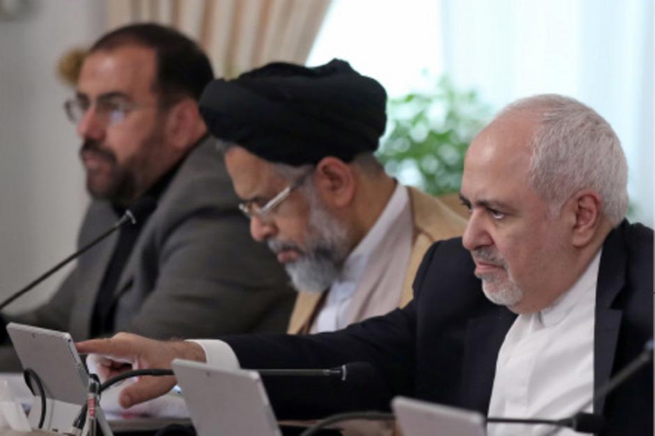 Ein von der iranischen Regierung veröffentlichtes Foto von Außenminister Mohammad Javad Zarif.