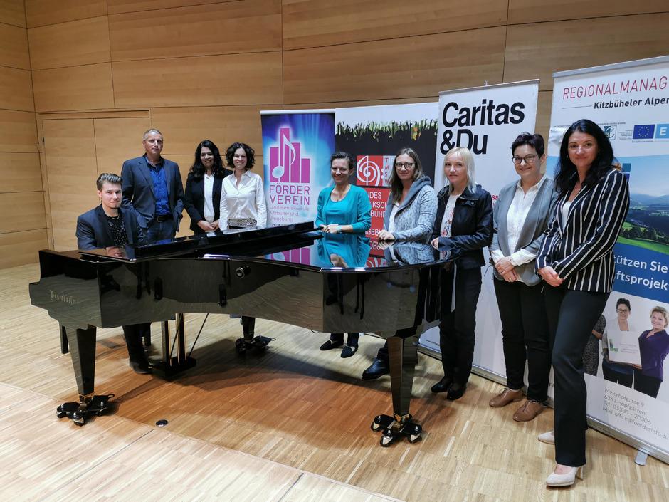 """Die Initiatoren von """"Musik hören – Musik spüren"""" hoffen auf viele Gäste am 18. Oktober bei dem ersten Konzert für Demenzkranke und ihre Angehörigen in der Landesmusikschule in Kitzbühel."""