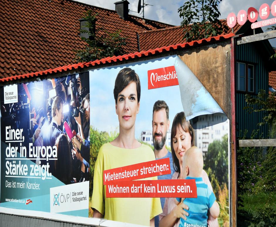 Noch eine Woche wird das Straßenbild vom Bodensee bis zum Neusiedler See von den plakativen Botschaften der wahlwerbenden Parteien beherrscht.
