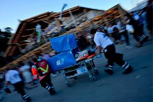 In den gut zwei Wiesnwochen sind in der Sanitätswache rund 600 Helfer und 50 Ärzte im Einsatz.