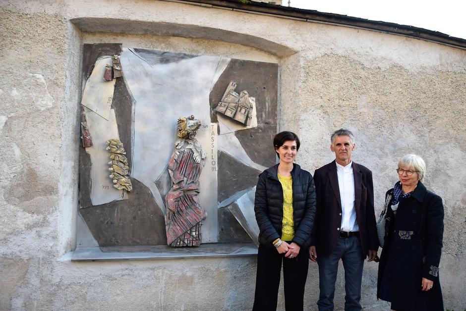 Stefanie Lösch, Alois Fasching und Rosmarie Burgmann (v.l.).