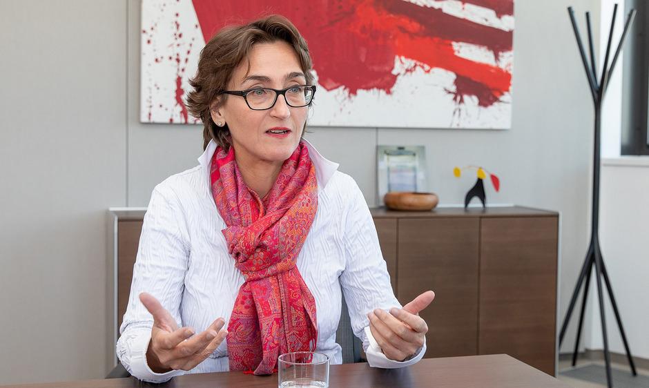 Bank-Austria-Vorstandsmitglied Susanne Wendler.