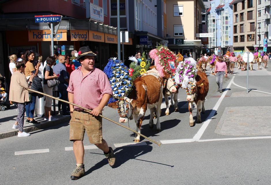 Nach 29 Jahren trieben die Bauern am Wochenende ihre Kühe offenbar zum letzten Mal durch die Festungsstadt.