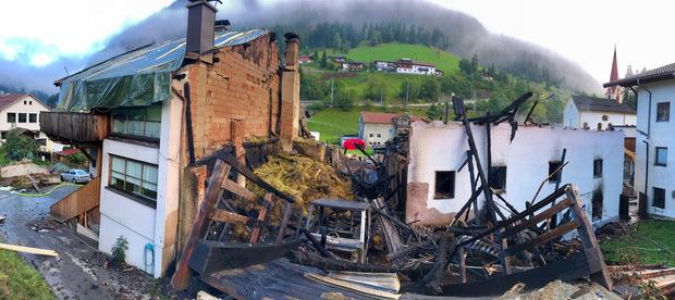 Das Gebäude muss komplett abgerissen werden.