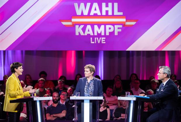Erwartungsgemäß hitzig verlief die Debatte zwischen Hofer und Rendi-Wagner.
