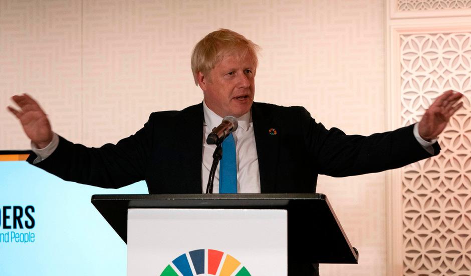 Der britische Premierminister Boris Johnson muss eine schwere Schlappe vor dem Höchstgericht einstecken.