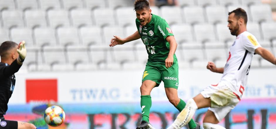 Clemens Walch traf beim Bundesliga-Auftakt gegen die Austria und könnte heute wieder in die WSG-Startelf rücken.