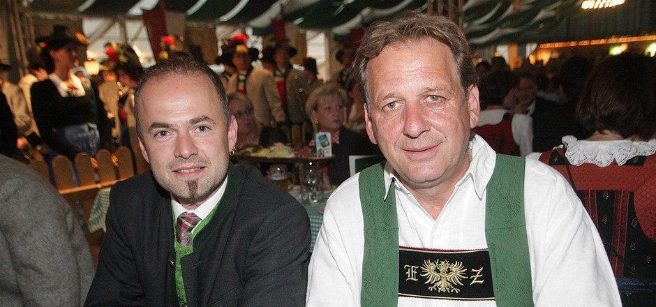 Hechenberger (l.) und Zangerl verstehen sich sehr gut aber Zangerl dementiert die vom Bauernbund veröffentlichte Wahlempfehlung.