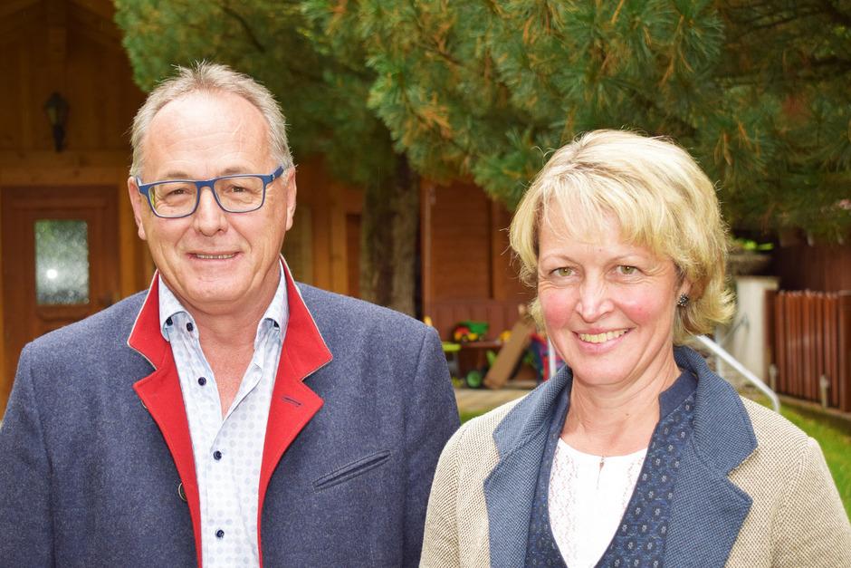 """Andrea Lechleitner und Markus Kirschner führen den Verein """"Pitztal Regional"""", der ein eigenes """"Pitztal-Label"""" vermarkten soll."""