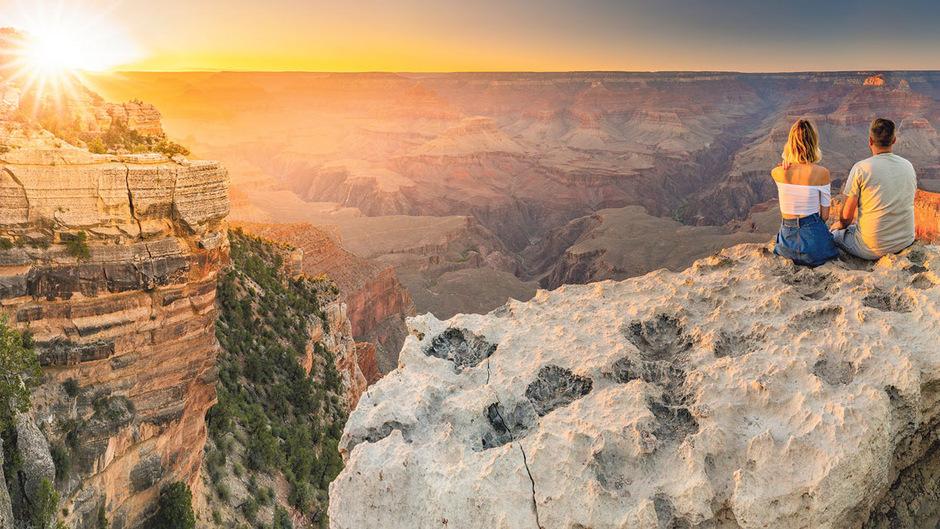 Der Grand Canyon bietet Wanderern wie Foto-Touristen spektakuläre Aussichten.
