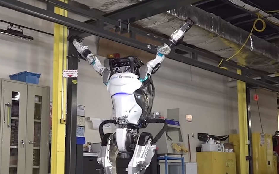 """In einem Video auf YouTube zeigt Roboter """"Atlas"""" sein Können."""