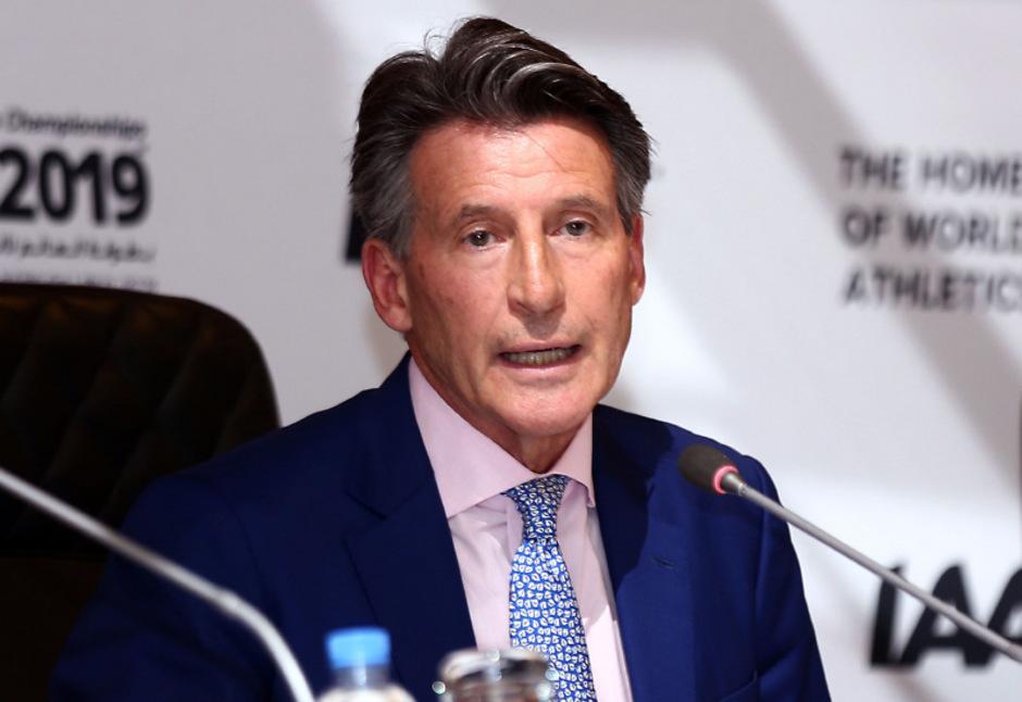 Weiter an der Spitze des Leichtathletik-Weltverbandes IAAF: Sebastian Coe.