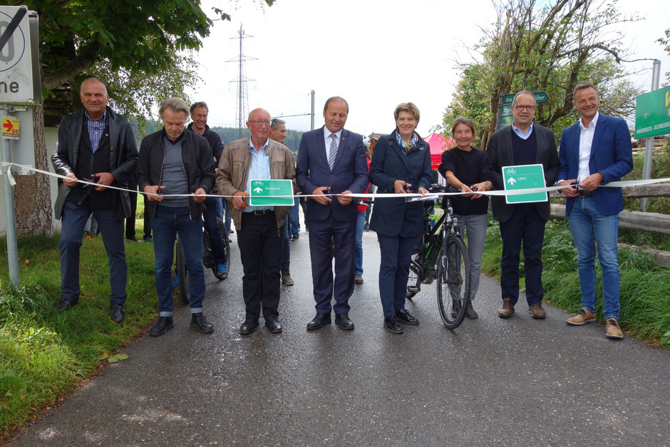 Schritt für Schritt und Schnitt für Schnitt zum Ausbau des Radnetzes.