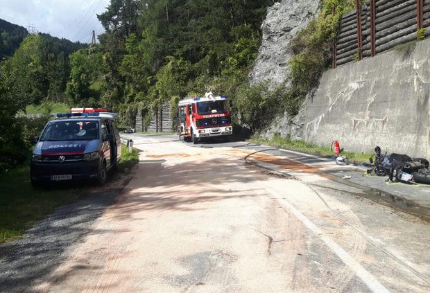 Ein Großaufgebot der Feuerwehr, Polizei und Rettung war vor Ort.