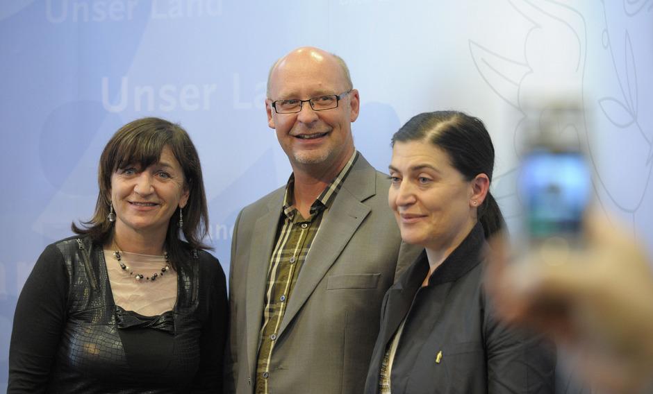 Schon ein paar Jährchen her. 2011 präsentierte Landesrätin Beate Palfrader Johannes Reitmeier als neuen Landestheaterchef.