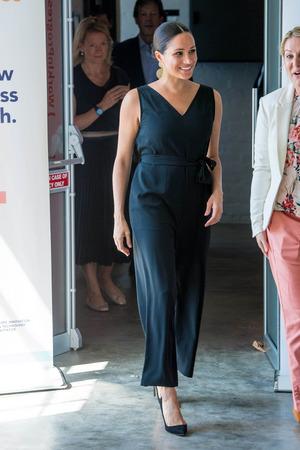 Herzogin Meghan in Cape Town auf einem Solo-Termin.
