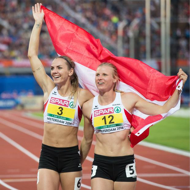 EM-Plätze drei und vier für Österreich im Jahr 2016: Ivona Dadic (l.) und Verena Preiner (r.) gelten bei der WM als Mitfavoritinnen.