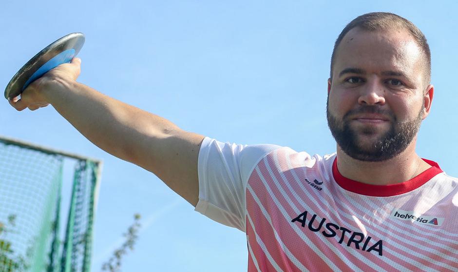 Lukas Weißhaidinger setzt in Doha zum großen Wurf an.