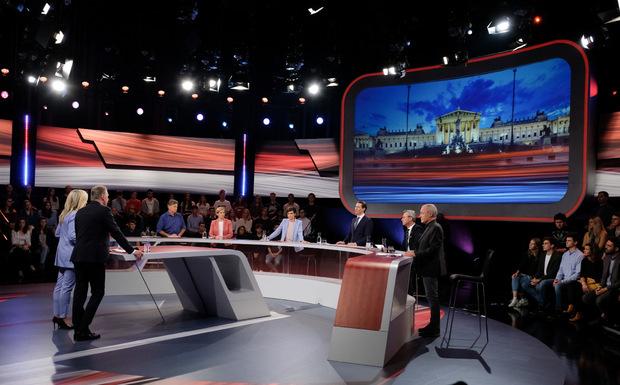 TV-Konfrontation zum letzten Mal vor der Wahl: Die Kandidaten buhlten um Wählerstimmen.