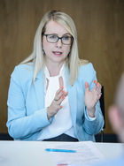 ÖVP-Spitzenkandidatin Margarete Schramböck.