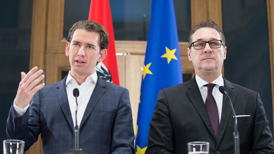 Ex-Bundeskanzler Sebastian Kurz (ÖVP) und Ex-Vizekanzler Heinz-Christian Strache (FPÖ).