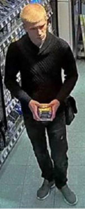 Dieser Mann soll in 13 Tiroler Drogeriemärkten wertvolle Kosmetika gestohlen haben.