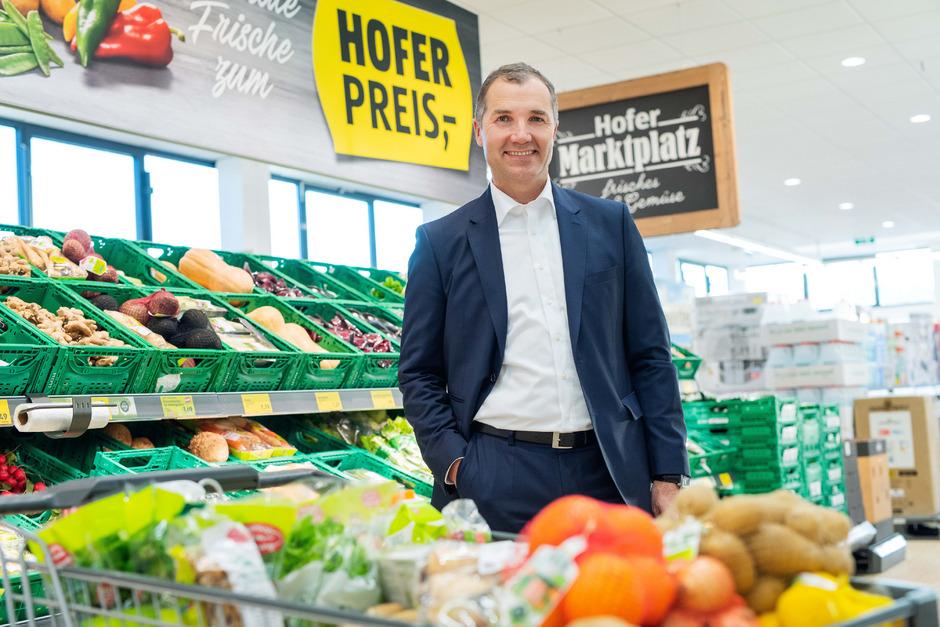 Hofer-Chef Horst Leitner will den Anteil an Markenprodukten von etwa 10 Prozent keinesfalls steigern.