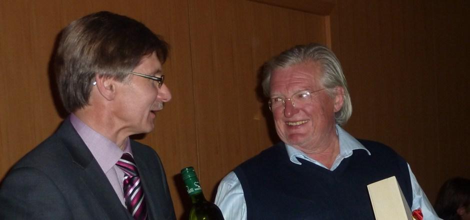 Den Kalser Altbürgermeister Klaus Unterweger (l.) und Herwig Zens verband eine jahrzehntelange Freundschaft.