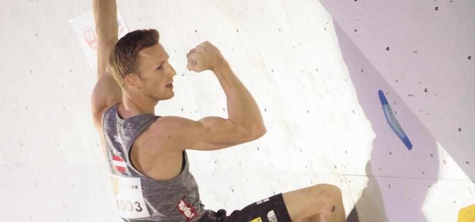 In Kranj und bei der EM will Jakob Schubert noch einmal die Muskeln spielen lassen.
