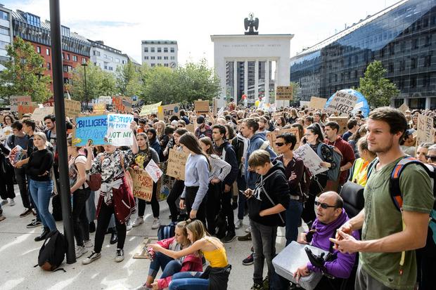 Treffpunkt für die Demonstration war der Innsbrucker Landhausplatz.