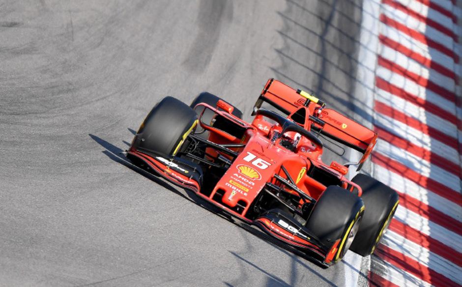 Im Qualifying aktuell nicht zu schlagen: Charles Leclerc.