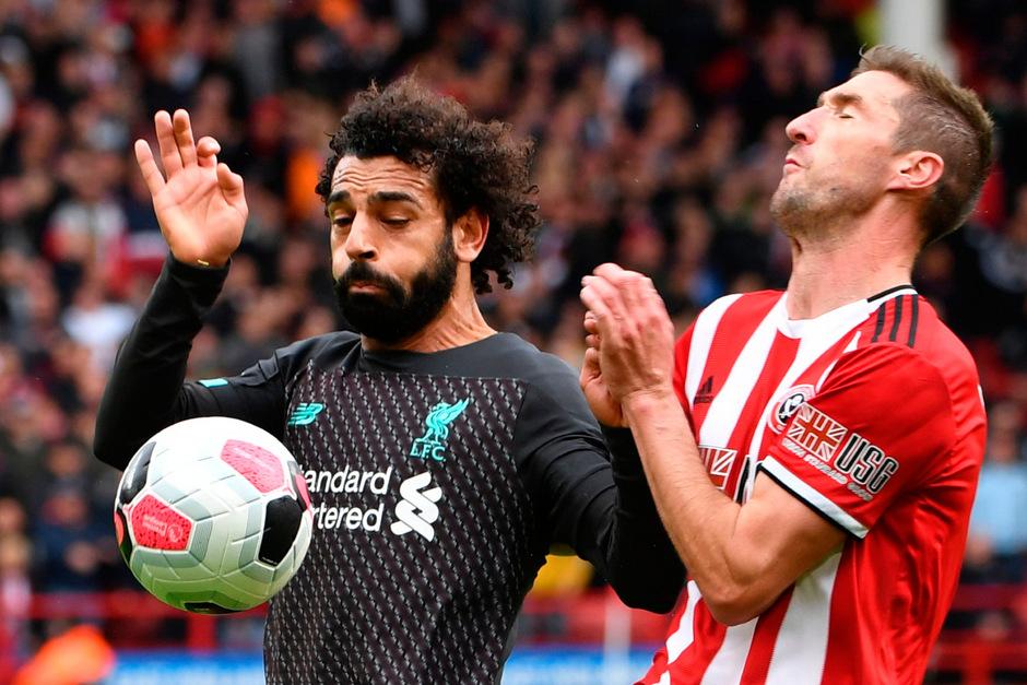 Liverpool-Star Mohamed Salah blieb ohne Torerfolg.