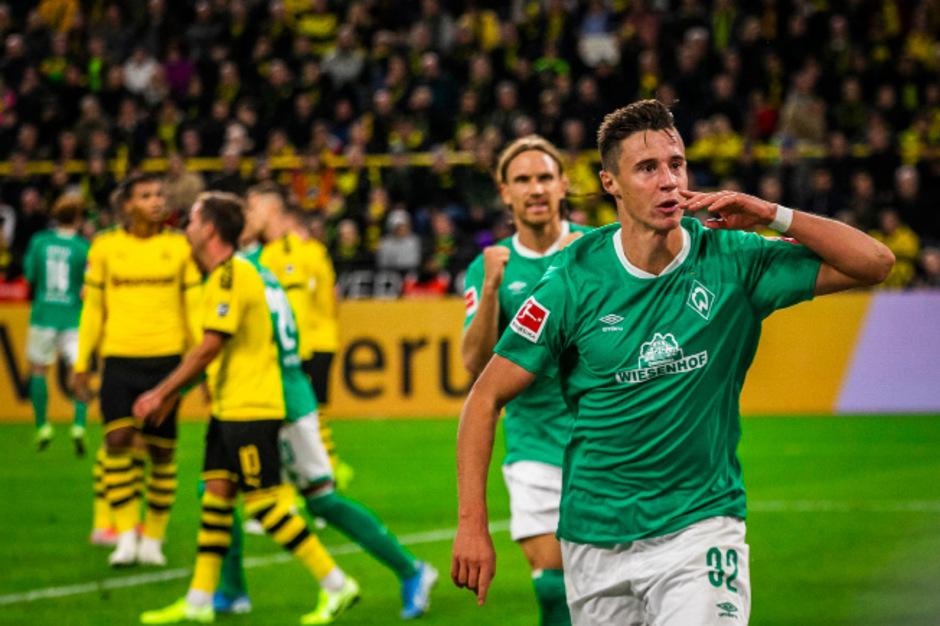 Der Kirchbichler Marco Friedl traf zum 2:2 für Bremen beim BVB.