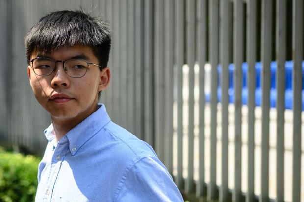 """Joshua Wong will bei den Lokalwahlen antreten. Es gebe """"keinen Grund"""" ihn zu disqualifizieren."""