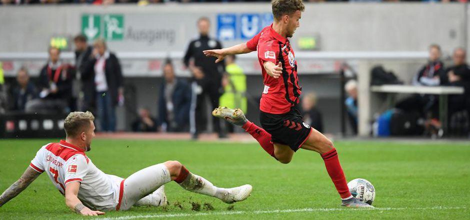 Luca Waldschmidt erzielte den Siegtreffer für Freiburg.