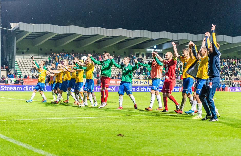 Der WSG Tirol will beim Regionalligisten Gleisdorf über den Einzug ins Cup-Viertelfinale jubeln.
