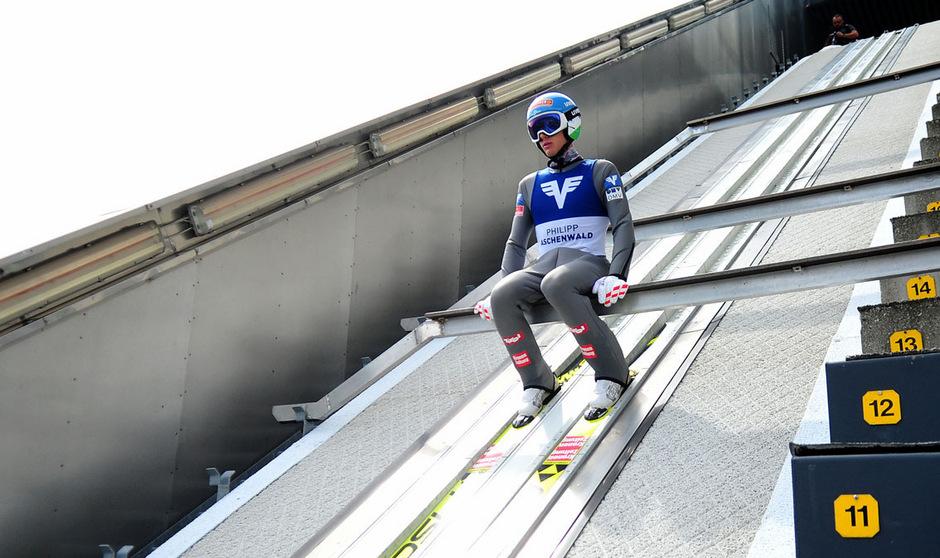 Philipp Aschenwald landete in HInzenbach auf Platz zwei.