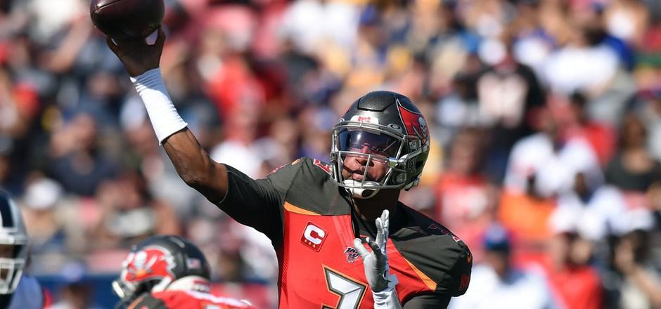 Jameis Winston führte Tampa Bay mit vier Touchdown-Pässen zum Sieg gegen die LA Rams.