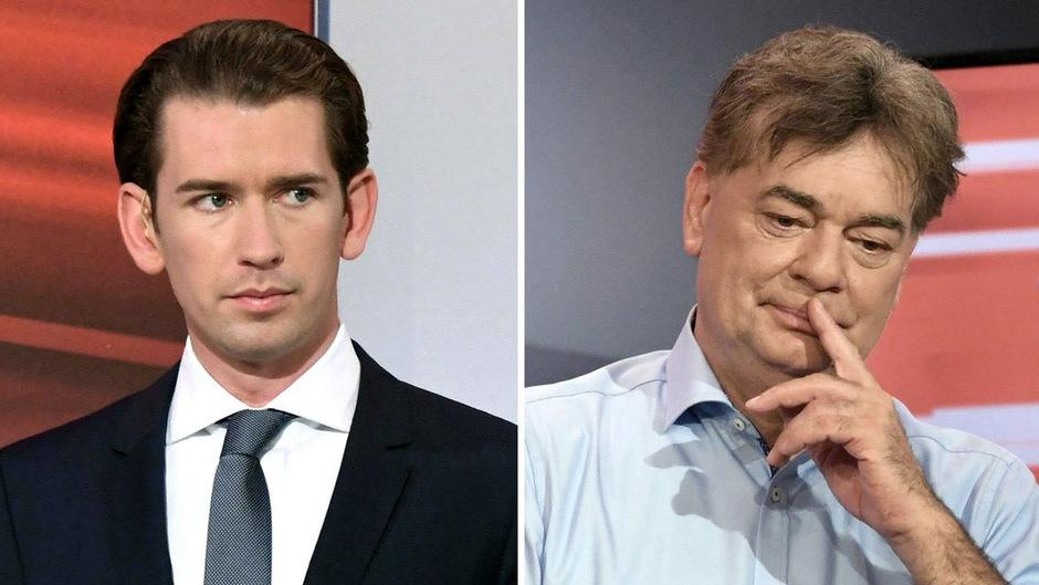 ÖVP-Chef Sebastian Kurz und Grünen-Bundessprecher Werner Kogler. Sie sind die strahlenden Wahlsieger. Aber ob sie auch in einer Koalition zusammenfinden können?