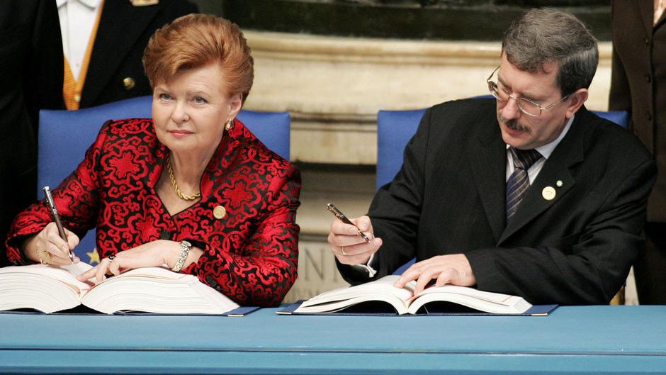 Indulis Emsis von den lettischen Grünen war im Jahr 2014 sogar Regierungschef. Sie wurden später halbiert und gingen in die Opposition.