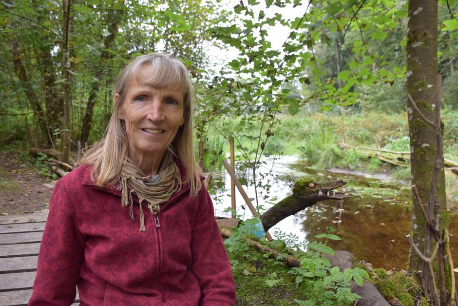 Maria Ringler verbringt täglich mehrere Stunden in der Filz – für ihr Engagement wurde sie 2017 mit der Landesverdienstmedaille geehrt.