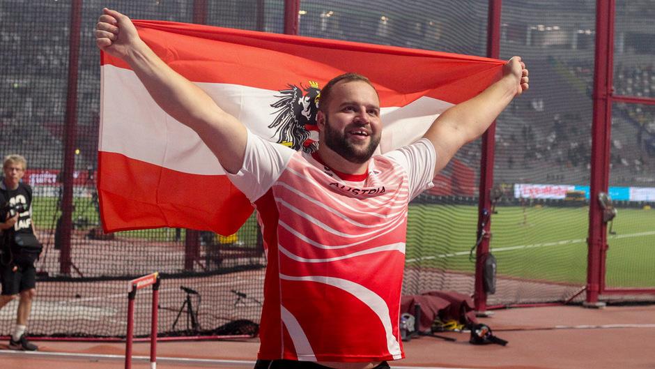 Nach Bronze bei der EM vor einem Jahr in Berlin eroberte der Oberösterreicher nun auch bei den Weltmeisterschaften in Doha (Katar) die Bronzemedaille.