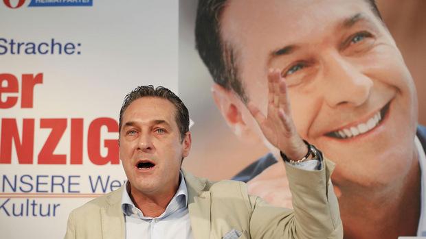 Heinz-Christian Strache gab sich vor der Regierungsbeteiligung in den Wahlkämpfen vor allem polemisch.