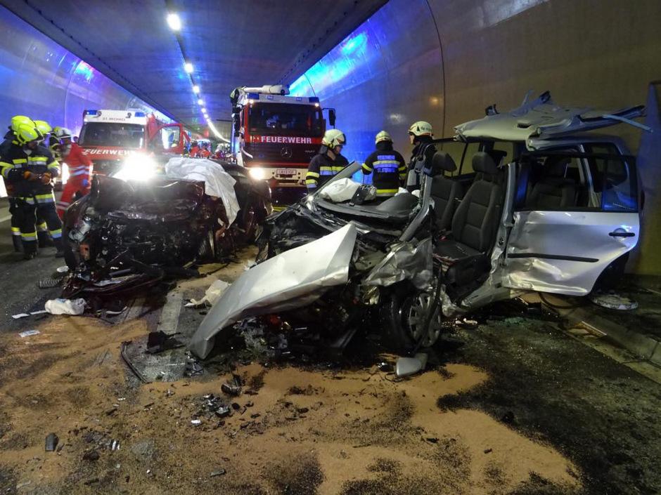 Im Gleinalmtunnel in der Steiermark starben im Sommer zwei Fahrzeuginsassen bei einem Unfall.