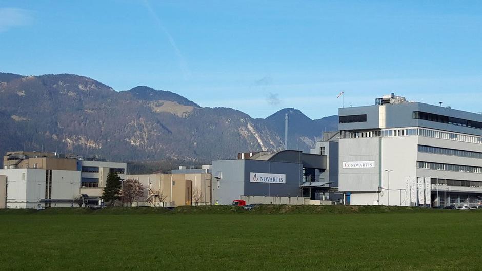 Der Novartis-Standort in Kundl.