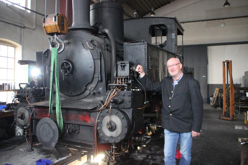 Heino Seeger von der Tegernsee-Bahn ist Betriebsleiter der Achenseebahn.
