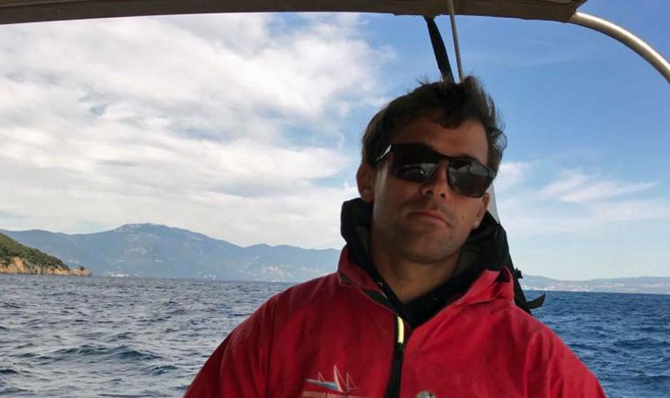 Ab durch die Welle: der Tiroler David Hussl.