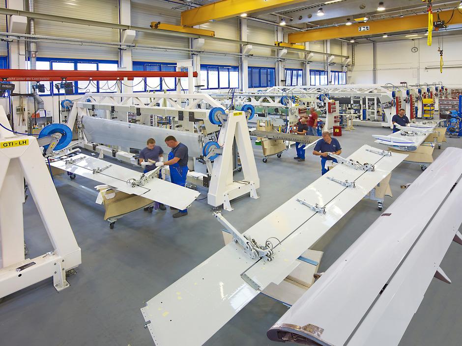 FACC-Werk 3 für Aerostructures in Ort im Innkreis.